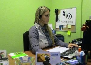 trabajadora social del servicio de informacion y orientacion