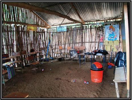 interior escuela de Mochohn