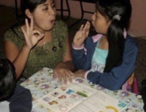 APOYO EN EDUCACIÓN A NIÑAS Y NIÑOS CON DISCAPACIDADES SENSORIALES (2015)